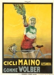 1920s Italian National Cycling Champion Poster